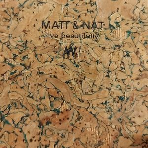 Matt and Nat Travel Zip Long Wallet Cork